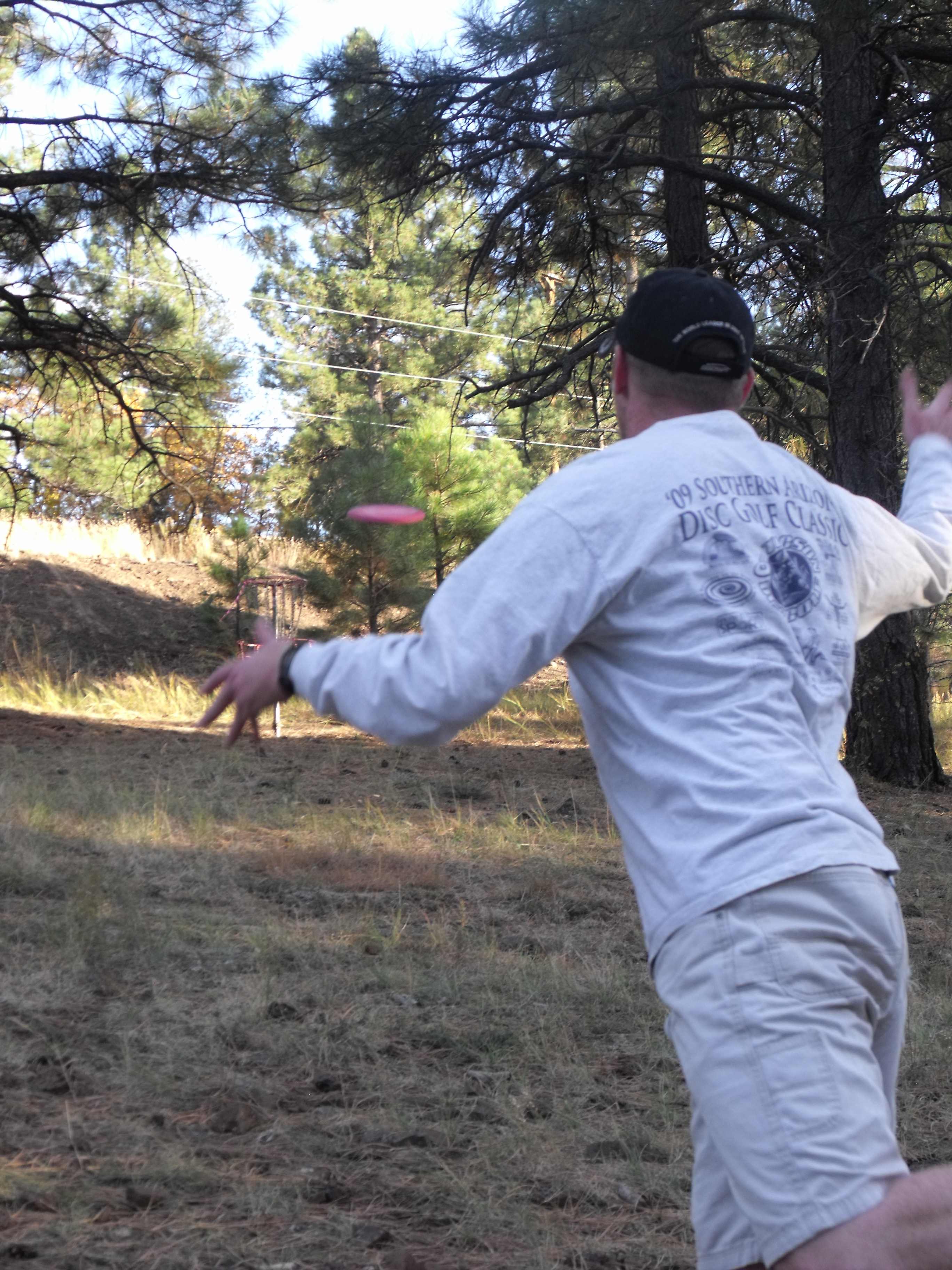 Putting On Hole 8 At McPherson In Flagstaff