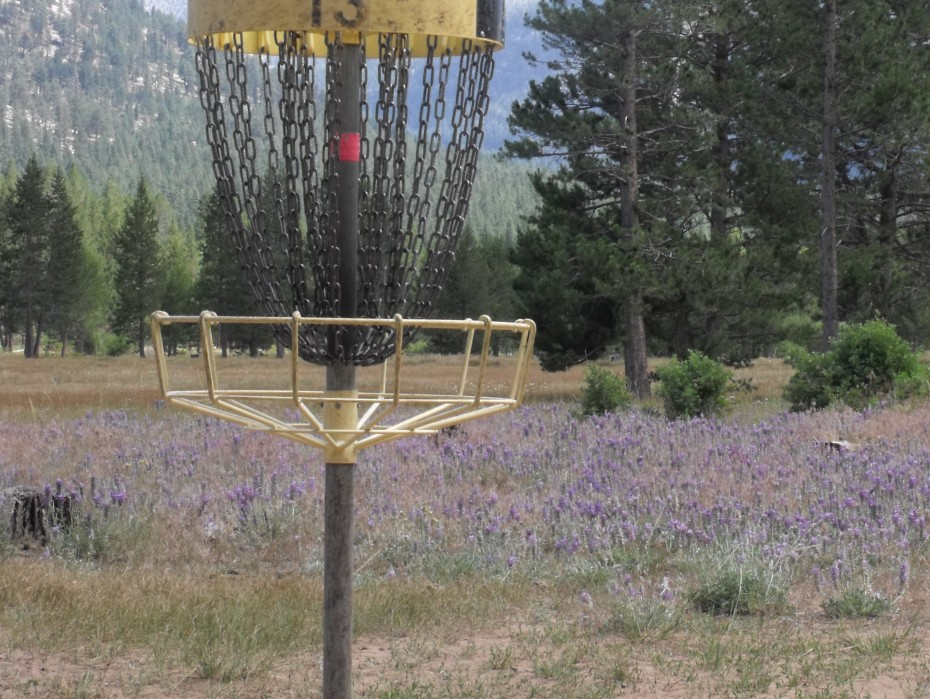 Hole 13 at Bijou Disc Golf Course