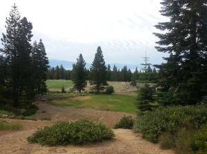 Tahoe Vista view from hole 1